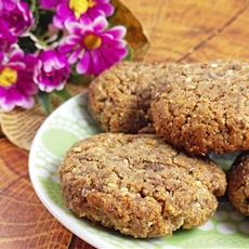 Crispy Flourless Flax Cookies (Vegan And Gluten