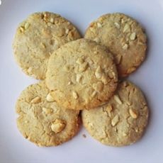 Crispy Honey Cookies With Nuts (Dairy