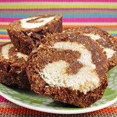 Raw Vegan Swiss Roll