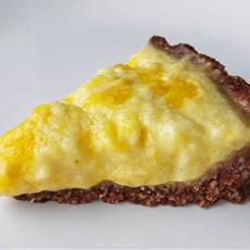 No-Bake Vegan Coconut Mango Tart For Two