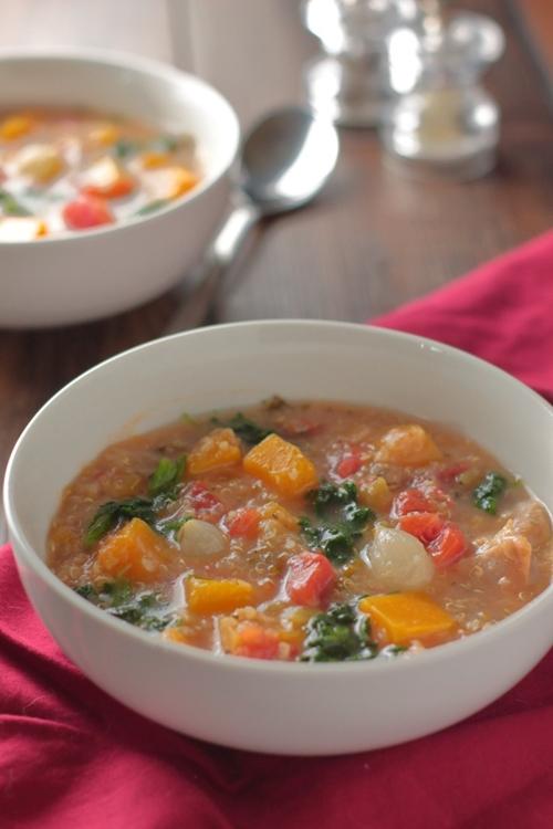 Chicken Stew with Butternut Squash