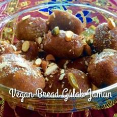 Vegan Baked Gulab Jamun Sugar Free Air Fryer