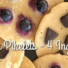 Vegan Pikelets - 4 Ingredients