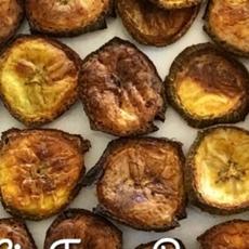 Air Fryer Vegan Banana Chips Masala Vegan
