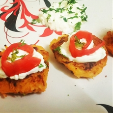 Pumpkin Potato Rosti