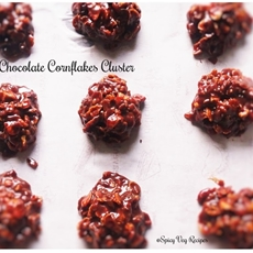 Nutty Chocolate Cornflakes cluster Recipeg