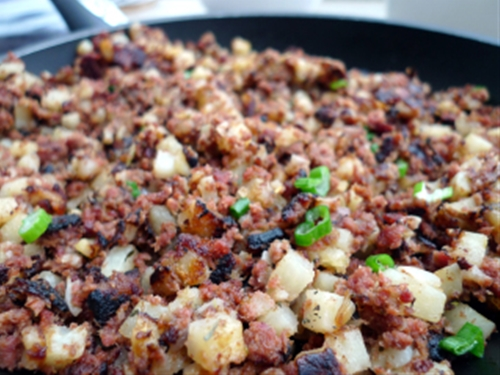 One Skillet Camp Hash