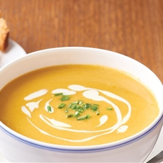 Roasted Pumpkin and Cumin Soup –