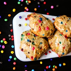 Birthday Cake Protein Cookies with Premier Protein