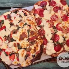 Delicious Freeform Fathead Pizza · Fittoserve Group