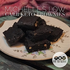 My Michelles Low Carb Keto Brownies · Fittoserve Group