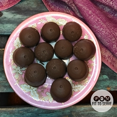 Low Carb Chocolate Peanut Butter Fat Bombs · Fittoserve Group