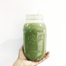 Green Vanilla Protein Smoothie