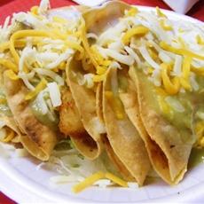Crispy Potato Rajas Tacos