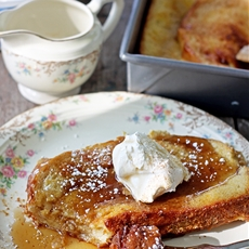 Overnight Cinnamon French Toast