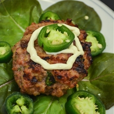 Jalapeno Pork Burgers; The Radiant Chef