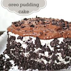 Forbidden Oreo Pudding Cake Recipe