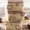 Fudgy Peanut Butter Milk Chocolate Bars