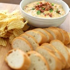 Amazing Bacon Cheddar Cheese Dip Recipe