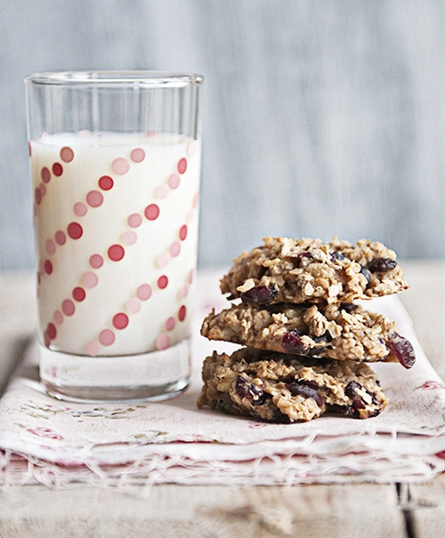 Hearty Oatmeal Banana Breakfast Cookies