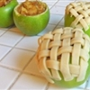 Apple Pie Baked in the Apples