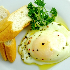 Olive Oil-Poached Egg
