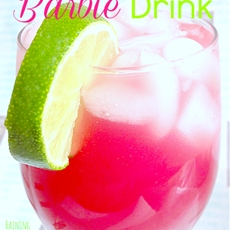 Non-alcoholic Kiddy Barbie Drink