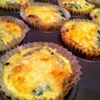 Low-Carb Bacon and Gouda Mini-Quiches