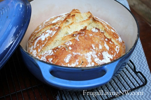 Basic No-Knead Bread
