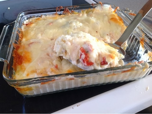 Creamy Artichoke Chicken Dish