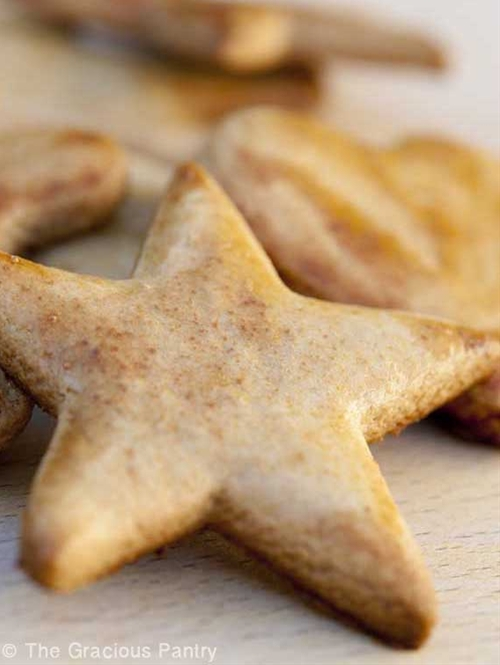Clean Eating Cut Out Cookies