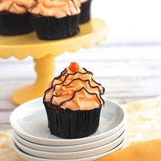 Orange Cream & Chocolate Cupcakes