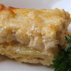 Cheesy Chicken Lasagna
