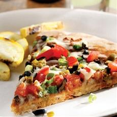 Black Bean Nacho Pizza