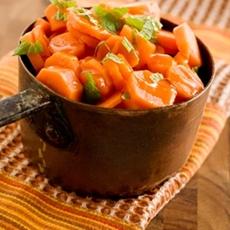 Paula Deen Honey Lemon Carrots