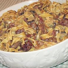 Crock Pot Beef Stroganoff