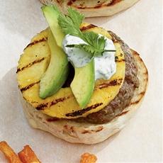 Pineapple-Jalapeño Burgers