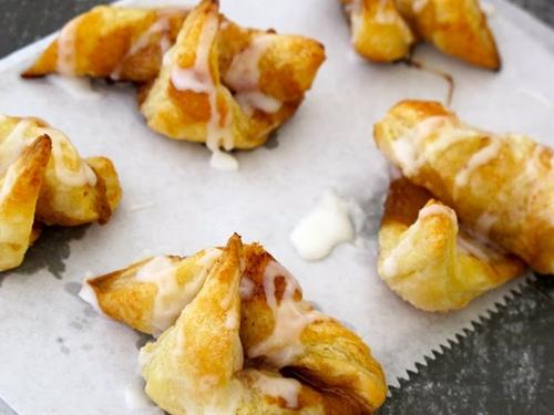 Puff Pastry Cinnamon Roll-ups