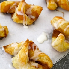 Puff Pastry Cinnamon Roll-ups