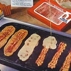 Bacon Strip Pancakes
