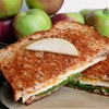 Cheddar, Apple, & Spinach Grilled Cheese
