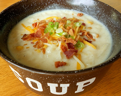 Disneyland's Loaded Potato Soup