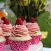 Double Berry Vanilla Cupcakes