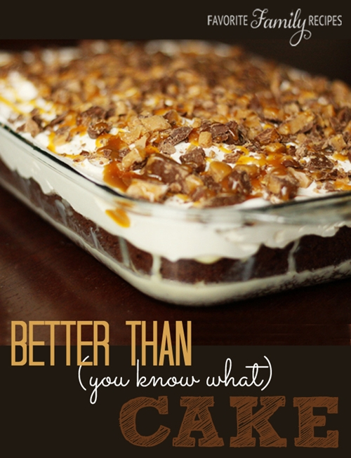 Better Than (you know what) Cake