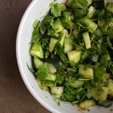 Candida Friendly Cucumber Salsa (Paleo, Vegan, Autoimmune)