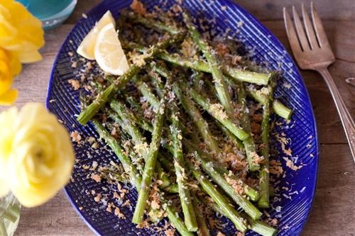 Panko Parmesan Asparagus