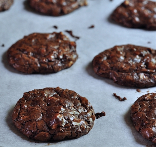 Outrageous Chocolate Toffee Cookies