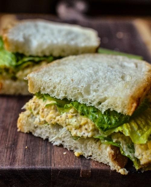 Chickpea of the Sea Sandwich