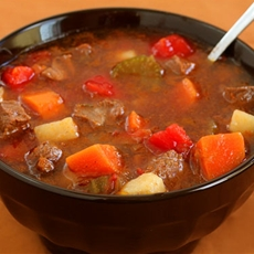 Steak Soup (Vegetable Beef Soup) Recipe