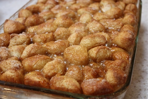 Monkey Bread with Rhodes Dinner Rolls